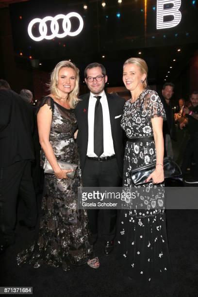 Carola Ferstl BILD chief Julian Reichelt and IKH Princess Mabel von OranienNassau Mabel Wisse Smit widow of Prince Johan Friso von OranienNassau...