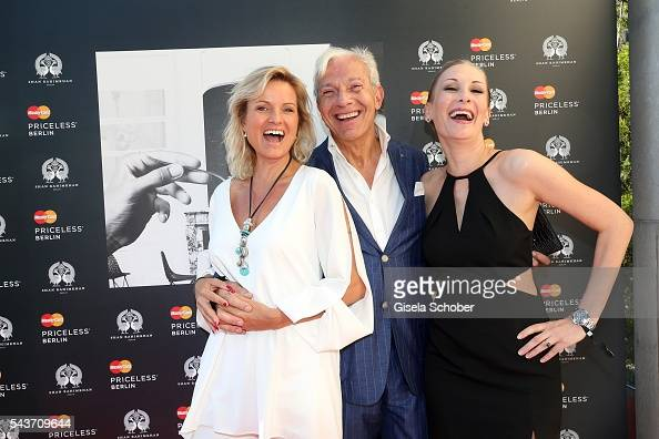 Carola Ferstl Jo Groebel And Fashion Designer Katrin Hubers During News Photo Getty Images