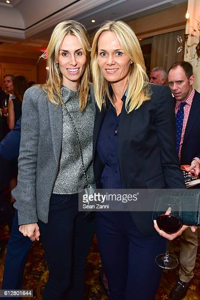 Carola Jain and Lise Evans attend Jay McInerney Book Party for Bright Precious Days Hosted by Audrey Gruss at 21 Club on October 4 2016 in New York...