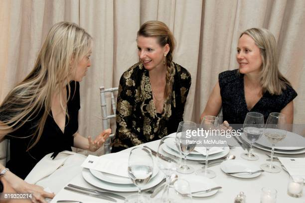 Carola Jain Karen Duffy and Patricia Harteneck attend SAKS FIFTH AVENUE VALENTINO Host a Dinner to benefit SAVE VENICE at Saks Fifth Avenue on April...