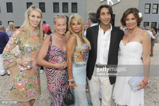 Carola Jain Sabine Anton Karen Goerl Jacques Azoulay and Countess LuAnn de Lesseps attend Paradiso The 17th Annual Watermill Summer Benefit 2010 at...