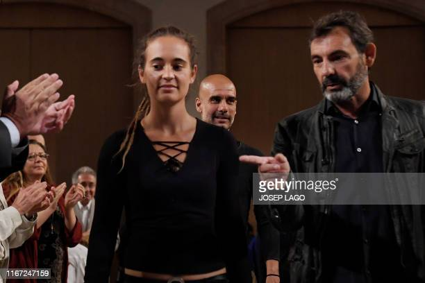 Carola Rackete German ship captain who works for the German sea rescue organisation SeaWatch and Spaniard Oscar Camps founder Proactiva Open Arms a...