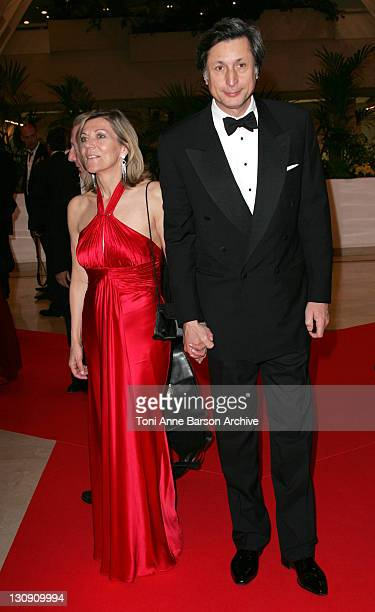 CarolAnn Hartpence and Patrick de Carolis during 2007 Cannes Film Festival Opening Night Gala Dinner Arrivals at Palais des Festivals in Cannes France