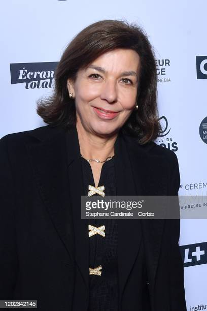 Carole Amiel attends the 25th Lumieres De La Presse Internationale Ceremony on January 27 2020 in Paris France