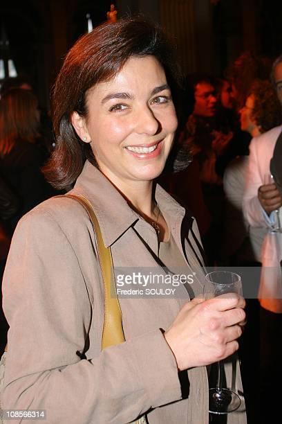 Carole Amiel in Paris France on May 10 2007