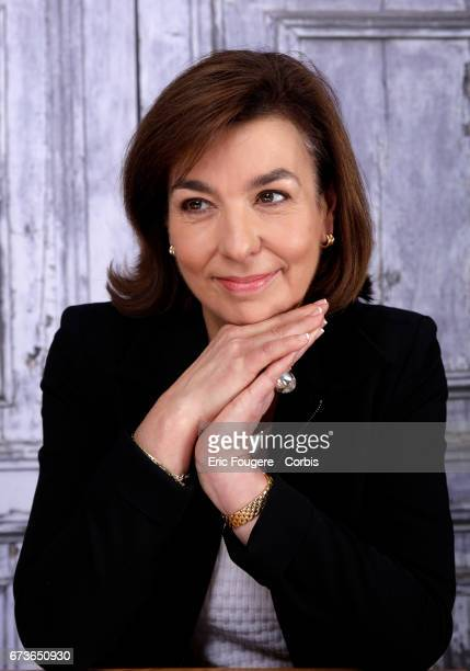 Carole Amiel poses during a portrait session in Paris France on