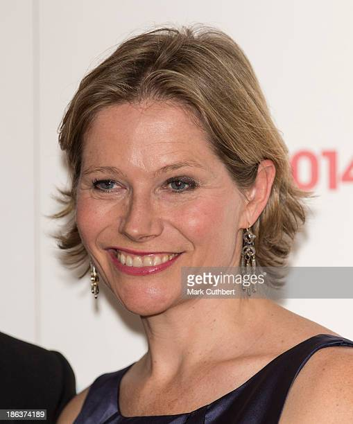 Carole Annett attends the British Olympic Ball at The Dorchester on October 30 2013 in London England