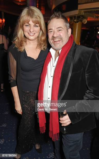 Carole Ashby and Graham Roos attend Chic To Cheek The National Youth Theatre Gala at Cafe de Paris on November 20 2017 in London England