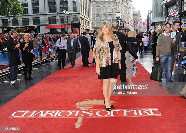 Carole Ashby attends the 'Chariots Of Fire' UK Film Premiere at Empire Leicester Square on July 10 2012 in London England