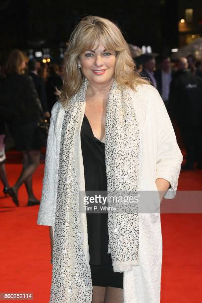 Carole Ashby attends the Mayfair Gala European Premiere of Film Stars Don't Die in Liverpool during the 61st BFI London Film Festival on October 11...