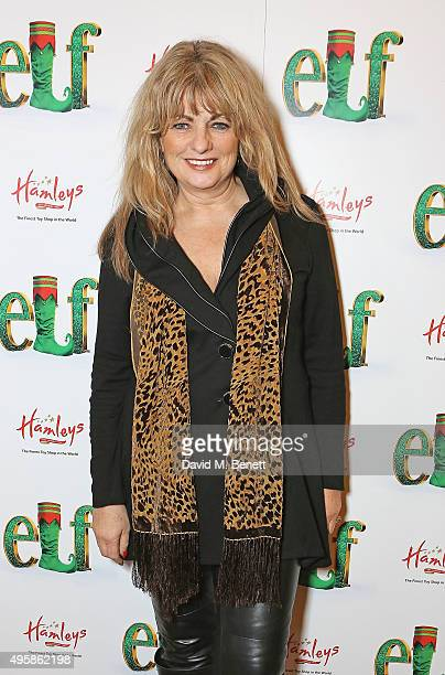 Carole Ashby attends the press night performance of Elf The Musical at the Dominion Theatre on November 5 2015 in London England
