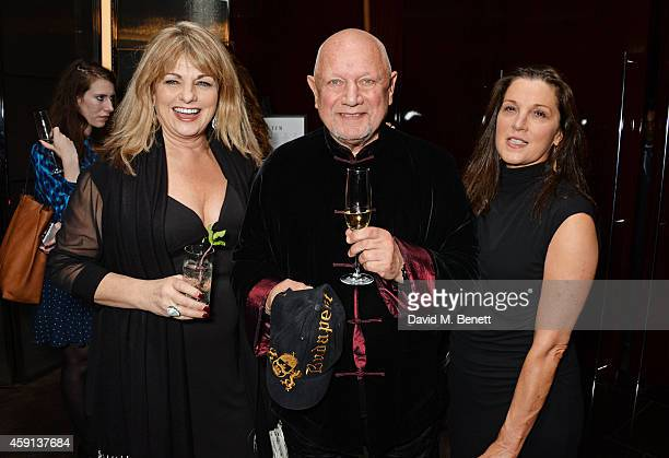 Carole Ashby Steven Berkoff and Barbara Broccoli attend the Liberatum Cultural Honour for Francis Ford Coppola at The Bulgari Hotel on November 17...
