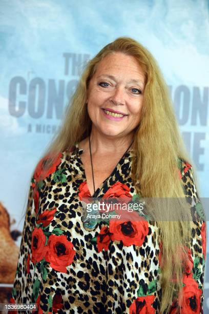 """Carole Baskin attends the Los Angeles theatrical premiere of """"The Conservation Game"""" on August 28, 2021 in Santa Monica, California."""