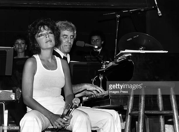 Carole Bayer Sager and Burt Bacharach in concert circa 1981 in New York City