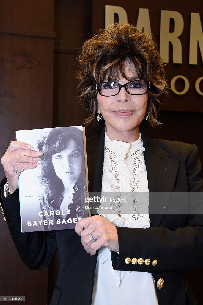 """Carole Bayer Sager Book Signing For """"They're Playing Our Song"""""""