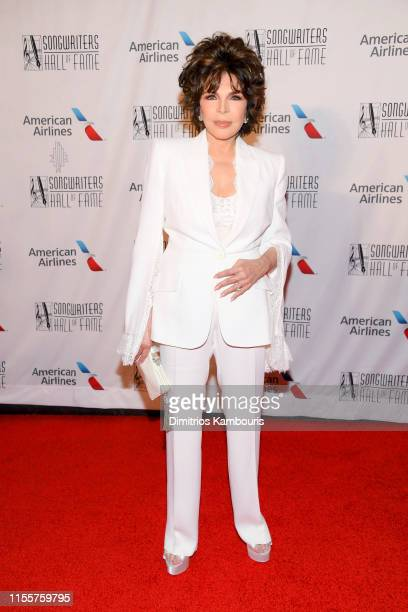Carole Bayer Sager attends the 2019 Songwriters Hall Of Fame at The New York Marriott Marquis on June 13 2019 in New York City