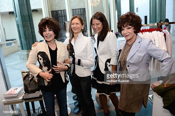 Carole Bayer Sager Jane Semel Katherine Ross and Lynda Resnick attend the Director's Circle Celebration of WEAR LACMA Inaugural Designs by Johnson...