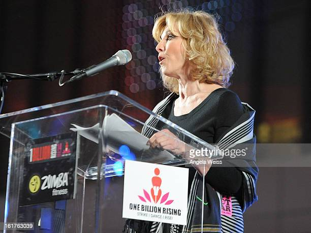 Carole Black attends One Billion RisingRise with VDay and Zumba Fitness One Billion Rising a Global Day of Action to End Violence against Women and...