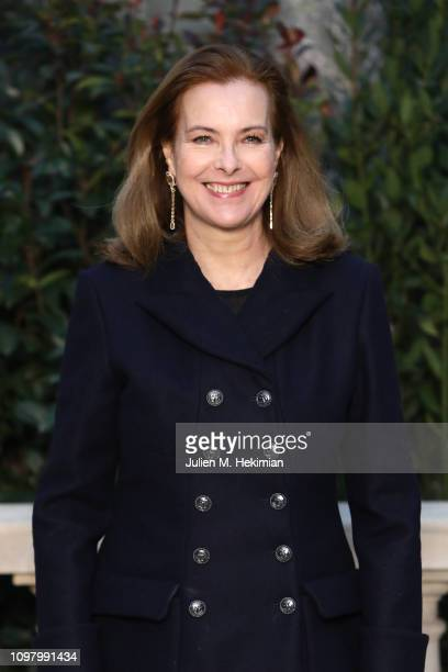 Carole Bouquet attends the Chanel Haute Couture Spring Summer 2019 show as part of Paris Fashion Week on January 22 2019 in Paris France