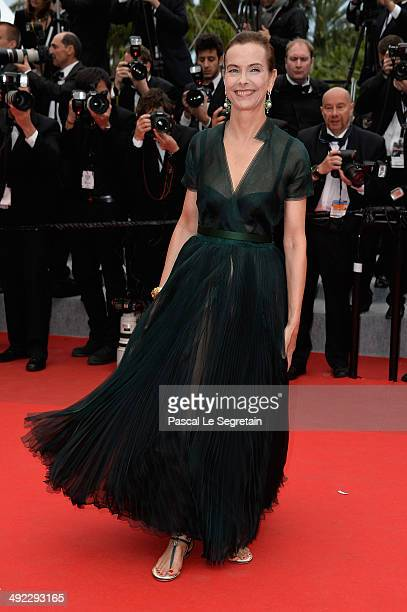 "Carole Bouquet attends the ""Foxcatcher"" premiere during the 67th Annual Cannes Film Festival on May 19, 2014 in Cannes, France."