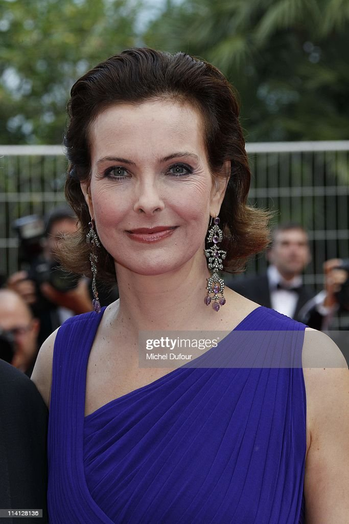 Carole Bouquet attends the 'Sleeping Beauty' premiere during the 64th Annual Cannes Film Festival at Palais des Festivals on May 12, 2011 in Cannes, France.