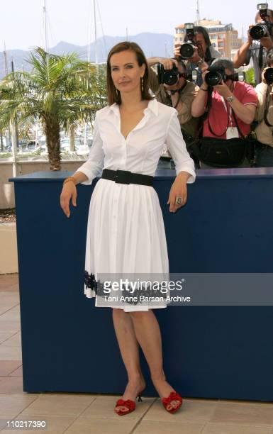 Carole Bouquet during 2005 Cannes Film Festival Nordeste Photocall at Palais Du Festival in Cannes France
