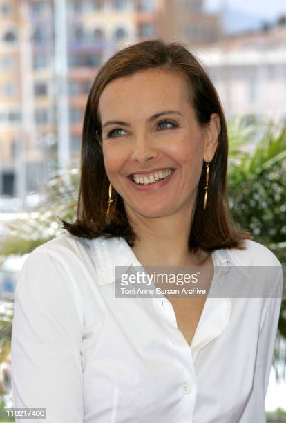 Carole Bouquet during 2005 Cannes Film Festival Nordeste Photocall at Palais Du Festival in Cannes France