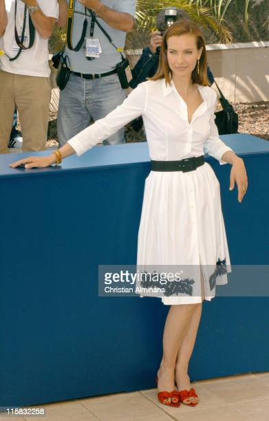 Carole Bouquet during 2005 Cannes Film Festival Nordeste Photocall in Cannes France