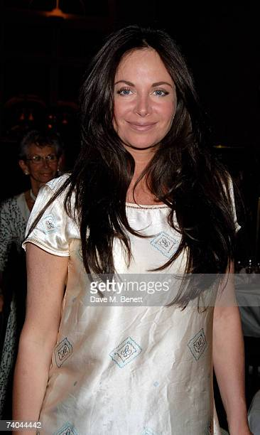Carole Caplin attends the after party following the opening night of 'The Letter' at the Waldorf Hotel on May 1 2007 in London England