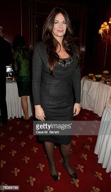 Carole Caplin attends the after party following the opening night of Absurd Person Singular at the Les Ambassadeurs Club on December 11 2007 in...