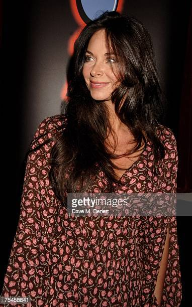 Carole Caplin attends the after party following the press night of 'Joseph And The Amazing Technicolor Dreamcoat' at Cirque on July 17 2007 in London...