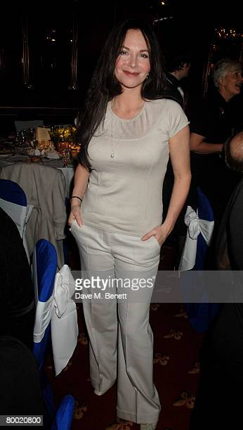 Carole Caplin attends the after party following the press night of 'The Vortex' at Les Ambassadeurs February 26 2008 in London England