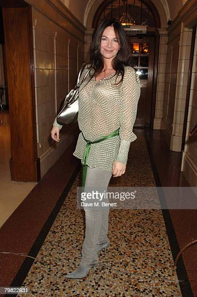 Carole Caplin attends the after show party following the performance by 'Dream On A Boy' a group featuring five singers from the search for Joseph...