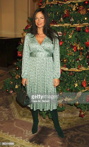 Carole Caplin attends the after show party following the press night for The Night Of The Iguana at Le Meridien Piccadilly on December 5 2005 in...