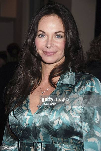 Carole Caplin attends The History Boys after party at Number One the Aldwych on January 3 2007 in London England
