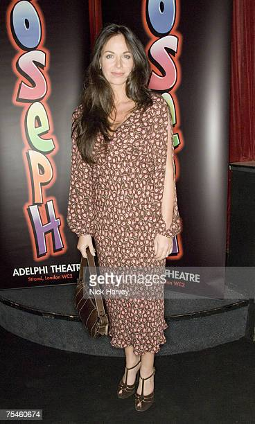 Carole Caplin attends the Joseph And The Amazing Technicolor Dreamcoat first night after party on July 17th 2007 in London
