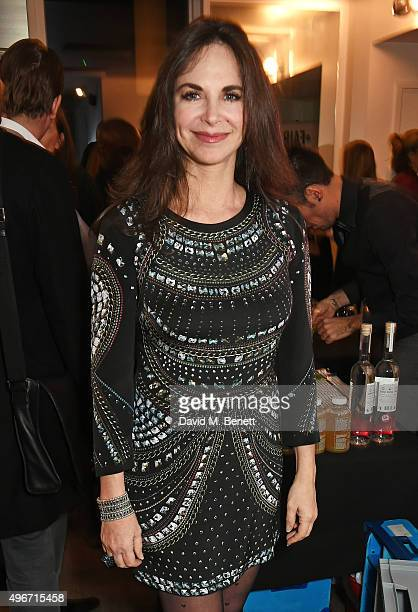 Carole Caplin attends the launch of Dr Nigma Talib's new book Reverse The Signs Of Ageing at Body Works West on November 11 2015 in London England
