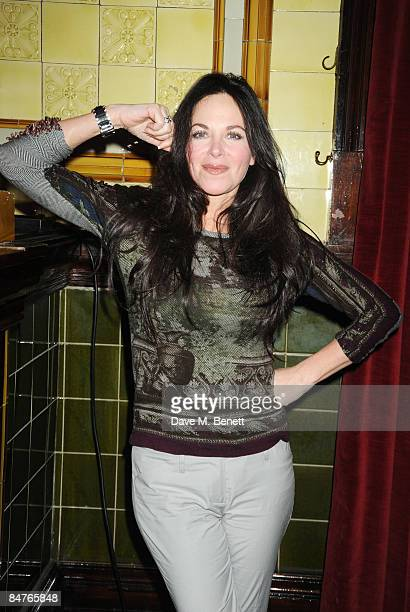 Carole Caplin attends the press night of 'On The Waterfront' at One Whitehall Place on February 12 2009 in London England