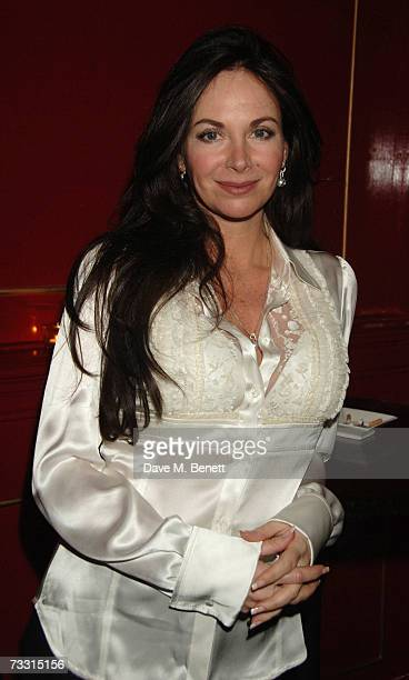 Carole Caplin attends the press night of 'The Glass Menagerie' at the Les Ambassadeurs on February 13 2007 in London England