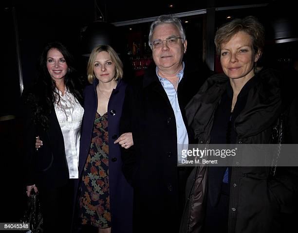 Carole Caplin Bill Kenwright and Jenny Seagrove attend the press night of 'Sunset Boulevard' at Floridita on December 15 2008 in London England