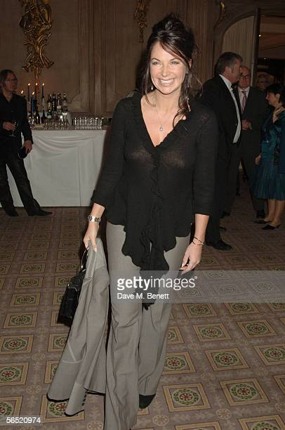 Carole Caplin former lifestyle guru to Cherie Blair attends the after show party following the opening night of Bill Kenwright's production at the...