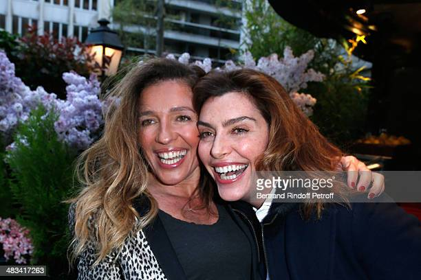 Carole Chretiennot and Daphne Roulier attend 'La Closerie Des Lilas Literary Awards 2014 7th Edition' at La Closerie Des Lilas on April 8 2014 in...