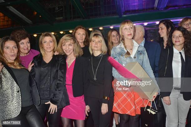 Carole Chretiennot Roselyne Bachelot Amanda Sthers Emmanuelle de Boysson Cecilia Attias Anne Michelet Jessica Nelson Scott Closerie 2014 awarded...
