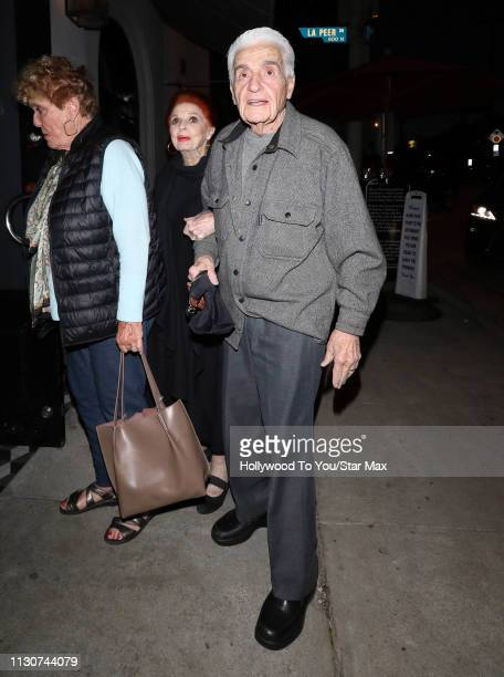 Carole Cook and Tom Troupe are seen on March 14 2019 in Los Angeles