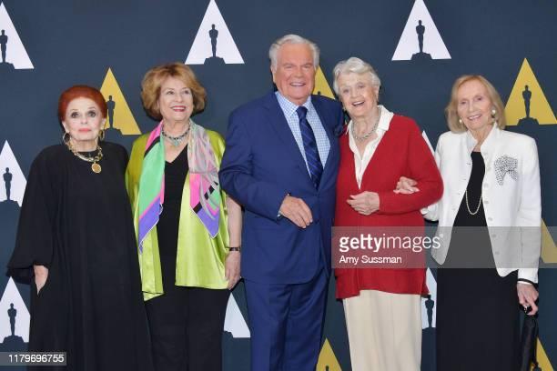 Carole Cook Diane Baker Robert J Wagner Angela Lansbury and Eva Marie Saint attend the inaugural Robert Osborne Celebration of Classic Film Series...