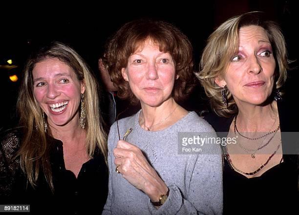 Carole Cretiennot Anne Wiazemsky and Emmanuelle de Boysson