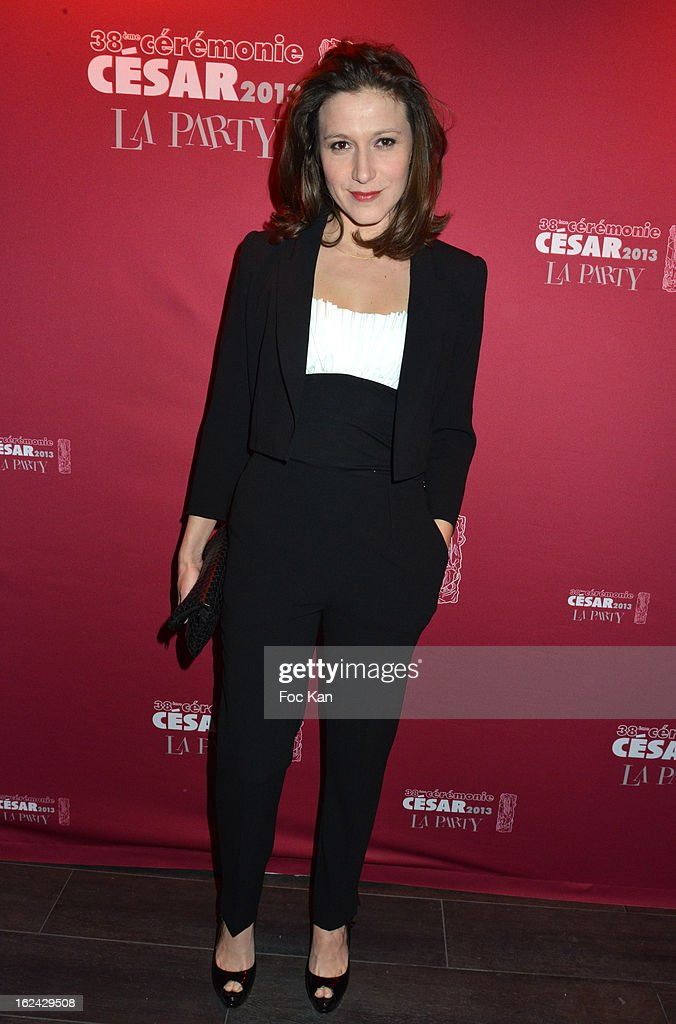 Carole Ducey attends the Cesar Film Awards 2013 after party at the Club 79 on February 22, 2013 in Paris, France.