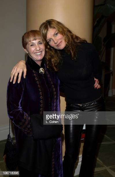 Carole Fields and Rene Russo during 4th Annual MAP Awards Musician's Assistance Program Fundraiser and Benefit Performance at Beverly Hills Hotel in...