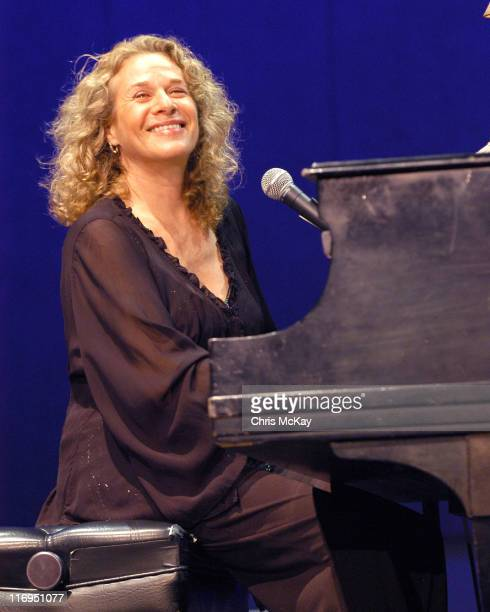 Carole King during Carole King in Concert Atlanta Georgia July 20 2005 at Chastain Park Amphitheatre in Atlanta Georgia United States