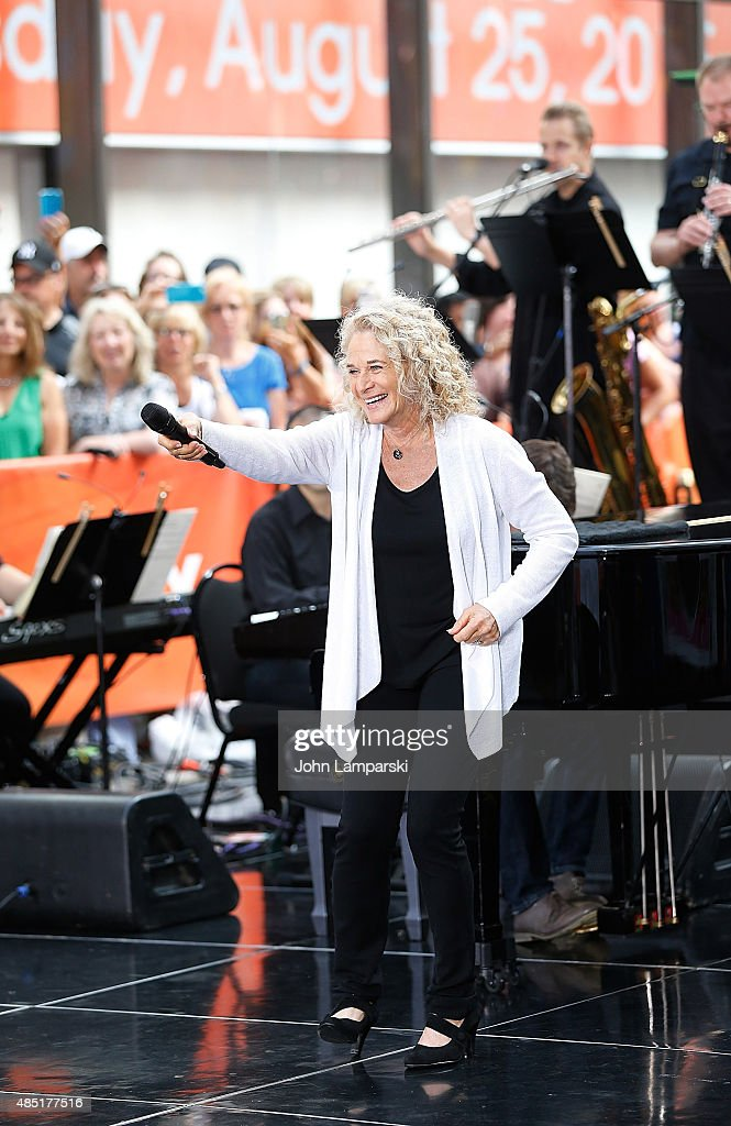 "Carole King Performs On NBC's ""Today"""